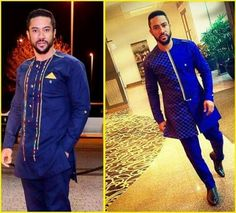 See the Coolest Ankara Styles For Men to spice up every man's 2018 fashion sense, look diiferently and exceedingly cool in these African ankara styles fashion for men in 2018 African Inspired Fashion, African Dresses For Women, African Print Fashion, Africa Fashion, African Attire, African Wear, African Women, African Style, Ankara Fashion
