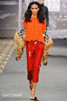 СТИЛЬНОЕ ВЯЗАНИЕ: Roberto Cavalli вязаный свитер