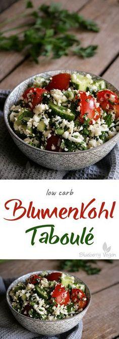 Blumenkohl-Taboulé vegan