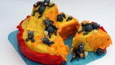 Neuvěřitelný dort: Myší mejdan na velikém bochníku sýra | Hobbymanie.tv - ta nejlepší stáj pro všechny vaše koníčky