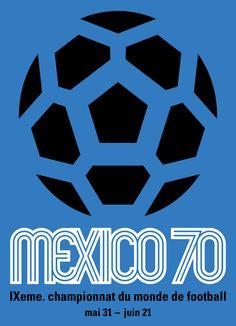 Poster FIFA World Cup 1970  Designer/Artist: Lance Wyman