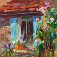 A Delight for the Soul, painting by artist Dreama Tolle Perry