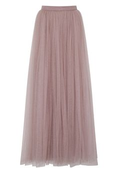 If you want to try the bridal separates trend, why not team a bridal top with this rose-hued tulle skirt from Little Mistress? Or have your bridesmaids wear it with beaded camis.
