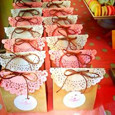 Baby shower favors!