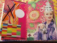Lindsay Colby art journal page