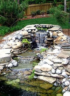Pond maintenance & aquarium maintenance are our specialties at Aquatic Creations Group Inc, located in Raleigh NC and serving Chapel Hill, Cary, and the Raleigh Triangle. Patio Water Fountain, Garden Fountains, Outdoor Fountains, Water Fountains, Pond Landscaping, Ponds Backyard, Backyard Waterfalls, Garden Ponds, Koi Ponds