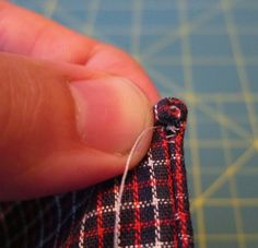 DIY: How To Hand Sew A Pocket Square (With Rolled Edges & Everything)