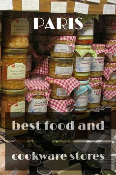 Food and cookware stores in Paris