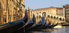 Venice, the place where you can sail with a gondola