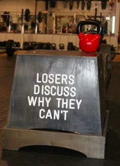 Losers discuss why they can't