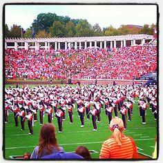 UVa Marching Band.