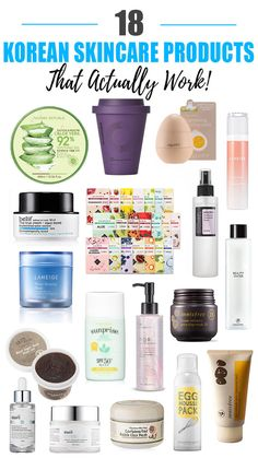 18 Best Korean Skincare Products That Actually Work 18 besten koreanischen Hautpflegeprodukte, die tatsächlich funktionieren Work Beauty Nerd By Night Source by LdyLuxe Beauty Care, Beauty Skin, Diy Beauty, Homemade Beauty, Beauty Ideas, Beauty Secrets, Beauty Hacks Oily Skin, Beauty Makeup, Beauty Hacks Skincare