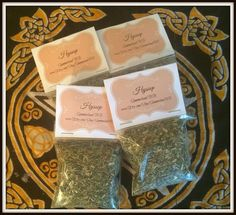 """Hyssop Magickal Herb ~ Protection Herb ~ Cleansing Herb ~ Consecration Herb ~ Incense ~ Spells ~ Wicca ~ Witch ~ Pagan ~ 3"""" x 3"""" Bag by SummerlandBB on Etsy"""