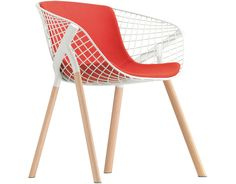 Kobi Chair with Medium Seat & Back Pad by Patrick Norguet for Alias