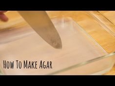 How to Make Agar (Recipe) 寒天の作り方(レシピ) - YouTube