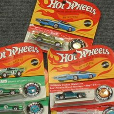 1967 - 1969 Hot Wheels Car Collection