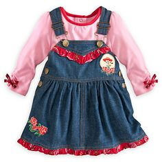 Jessie Overall Dress Collection for Baby | Dressing Baby | Disney Store EEP!! Too cute!! $24.46