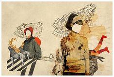 Memories of Tomorrow by Julien Pacaud