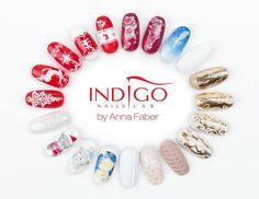 Perfect for Christmas! by Anna Faber Indigo Educator <3 <3 <3 #nails #christmas #newyear #polish #gelpolish #red