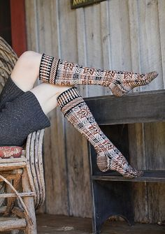 Ravelry: Nordic Socks pattern by Susan Anderson-Freed