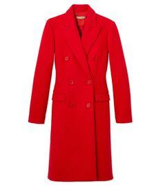 Michael Kors: Scarlet Wool Coat