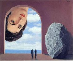 René Magritte - Portrait of Stephy Langui, 1961