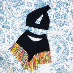Crochet Bra, Crochet Shorts, Crochet Clothes, Crochet Designs, Crochet Patterns, Knitting Patterns, Hand Embroidery Videos, Basic Crochet Stitches, Crochet Fashion
