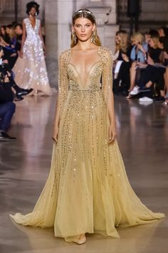 Georges Hobeika | Haute Couture Spring Summer 2018 | Look 5