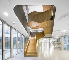 INET - a major public service school | AZC Atelier Zündel Cristea; Photo: Sergio Grazia | Archinect