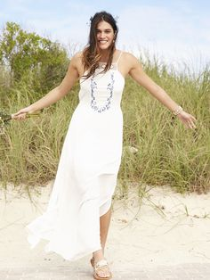 Dainty Water Color Maxi Dress
