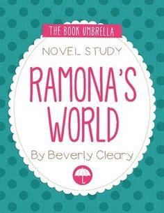 Ramona's World by Beverly Cleary Novel Study