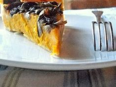 Torta salata di zucca radicchio e gorgonzola