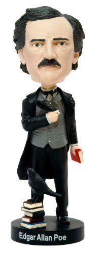 Edgar Allan Poe Bobblehead by Royal Bobbles, http://www.amazon.com/dp/B008171C6A/ref=cm_sw_r_pi_dp_0Q.Uqb0Y9GE2A