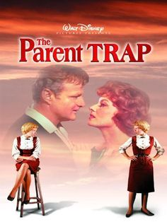 The Parent Trap - this depicts the original Disney movie w/ Haley Mills playing the twin sisters! I liked the original the best! Old Movies, Vintage Movies, Great Movies, 1960s Movies, 1990s Films, Barbie Movies, See Movie, Film Movie, Movies Showing