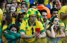 Fifa World Cup 2014 Brazil: REACTION to Brazil's 1-7 humiliation by Germany July 8: The AGONY + ECSTASY after the 1s semi-final...via cbs news • depicted: Brazilian fans shock at Mineirao stadium
