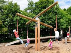 This seems to be an amazing, reverse teeter-totter.
