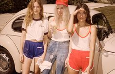 '70s Inspired Fashion - Summer Basics | NYLON