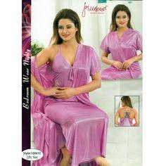 Fashionable Two Part C Satin Dresses, Silk Dress, Sexy Night Dress, Satin Nightie, Sexy Wife, Nighties, Beautiful Saree, Salwar Kameez, Silk Satin