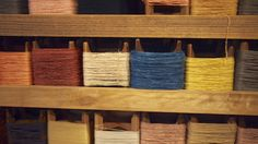 Naturally woven and coloured with natural dyes T shirts in Kyoto from Tezomeya.com