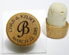 These beautiful wine stoppers are engraved just for you. They make great personalized wedding favors or birthday gifts for the hard to buy for.