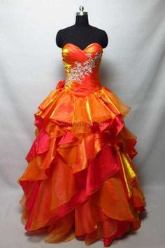 Shop 2013 Prom Dresss Ball Gown Sweetheart Floor Length Organza