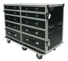 Zarges a20 //// Cabinet //// Box //// Box //// DRAWER CABINET //// Transport Crate