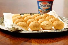 Receta Chipá de Casancrem Cheese Bread, Bread Recipes, Vegetarian Recipes, Favorite Recipes, Snacks, Vegan, Cooking, Ideas Para, Yum Yum