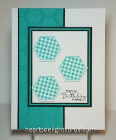 Six-Sided Birthday by Cards4Ever - Cards and Paper Crafts at Splitcoaststampers