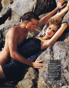 'Star Bright' from……………Fashion Quarterly 1990 feat Nina Huttula & Thom Gwin