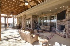 Built for entertaining with an open floor plan, tall ceilings & spacious covered outdoor living area that has everything you need | Flat for Sale | Willow Ridge- Prosper ISD
