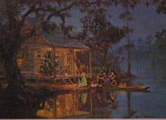Cajun Christmas on the bayou...