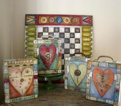 Lisa Kaus hearts -be sure to give credit if you post her art, please.-