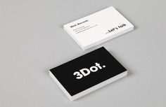 Minimalistic Business Cards