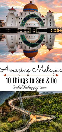 Adventures in Malaysia - 10 Inspirational Places to See & Things to Do in Malaysia - Looks Like Happy